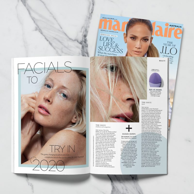 isclinical fire and ice facial sydney